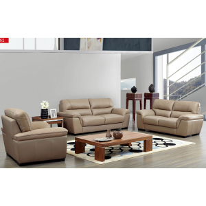 8052 contemporary Leather sofa