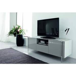 Fly White Tv Unit By Rossetto