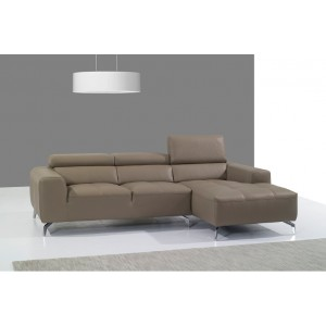 A978 Premium Leather Sectional By J&M