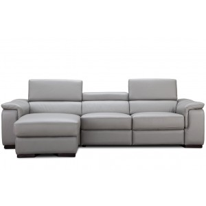 Alba Premium Leather Sectional By J&M