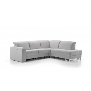 Artemis Leather Sectional | Rom | Made in Belgium