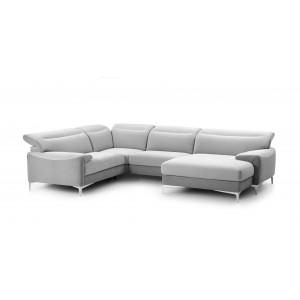 Aruba I Leather Sectional | Rom | Made in Belgium