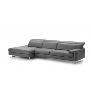 Aruba II Leather Sectional | Rom | Made in Belgium