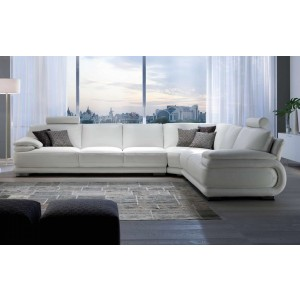 Atlantic Leather Sectional | Chateau d'Ax Italia