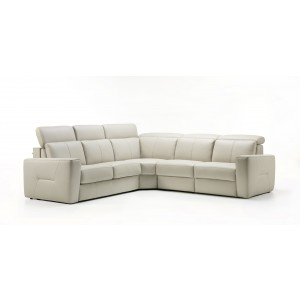 Atria Leather Sectional | Rom | Made in Belgium