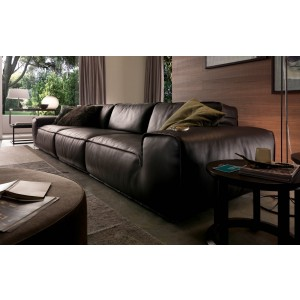Avenue| Italian leather sectional| Chateau D'Ax Italia
