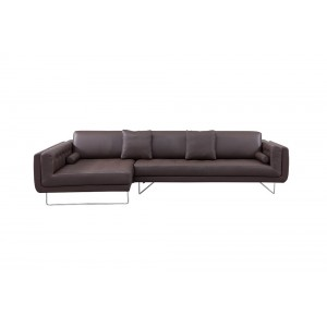 Bruno Premium Leather Sectional By J&M