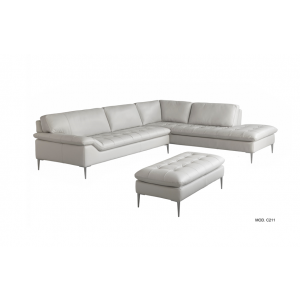 C211 italian leather sectional| Chateau d'Ax Italia