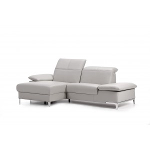 Chronos I Leather Sectional | Rom | Made in Belgium
