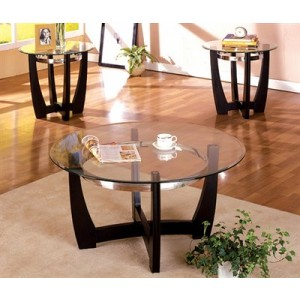 Orion Coffee Table and Two End Tables By FOA