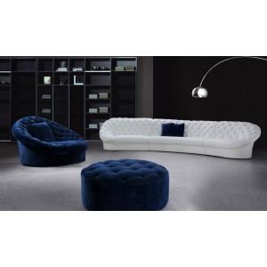 Cosmopolitan - Sectional Sofa, Chair and Ottoman
