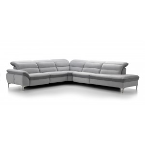 Daphne Leather Sectional | Rom | Made in Belgium