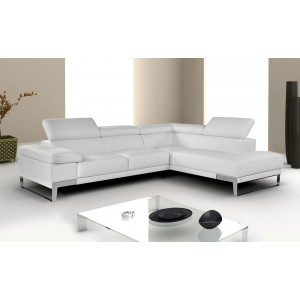 Domus Premium Leather Sectional by Nicoletti