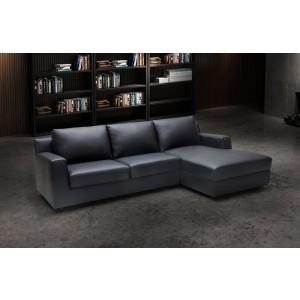 Elizabeth Premium Leather Sectional   J&M