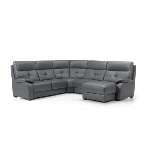 Florac I Leather Sectional | Rom | Made in Belgium