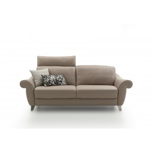 Fortuna Leather Sofa | Rom | Made in Belgium