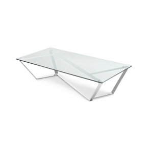 Fusion modern glass coffee table