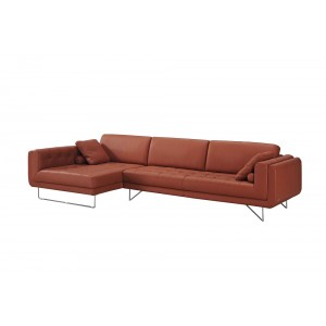 Hampton leather sectional