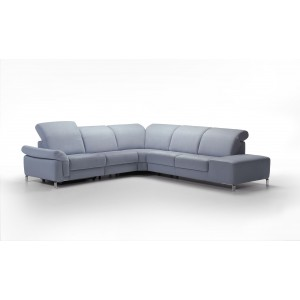Helena I Leather Sectional | Rom | Made in Belgium