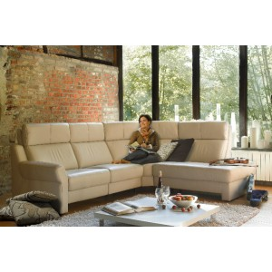 Hera Leather Sectional | Rom | Made in Belgium