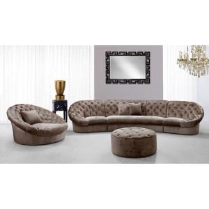 Cosmopolitan Mini Sectional Sofa Set