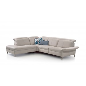 Juno Leather Sectional | Rom | Made in Belgium