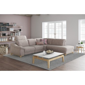 Jupiter Fabric Sectional | Rom | Made in Belgium