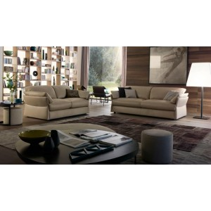 Lady T Premium Italian leather sofa | Chateau d'ax Italia