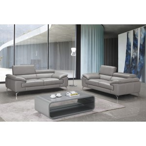 Liam Premium Leather Sofa