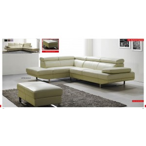 101 Sectional Off White By ESF