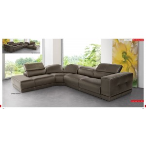 Bilbao Sectional Brown By ESF