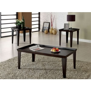 Dayton Coffee Table and Two End Tables By FOA