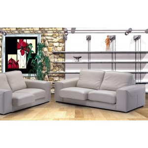 Luxor Italian Leather Sofa Set