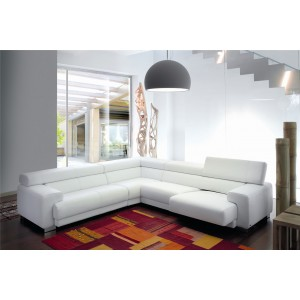 Millennium Premium Sectional | Italian Leather | adjustable seat| Levante