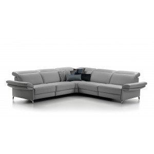 Minerva Leather Sectional | Rom | Made in Belgium