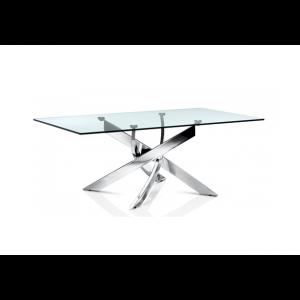 Fabio modern glass coffee table