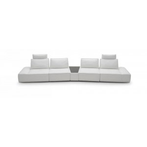 Orchid - Modern White Sofa