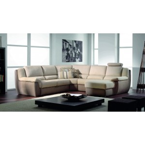 Pallas Leather Sectional | Rom | Made in Belgium