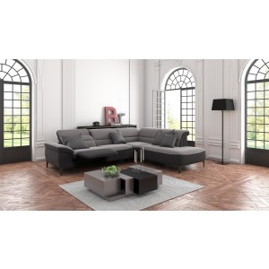 Remus Leather Sectional | Rom | Made in Belgium