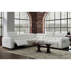 Riley Premium Italian Leather Sectional