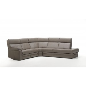 Salvo I Leather Sectional   Rom   Made in Belgium