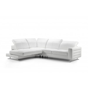 Samoa II Leather Sectional | Rom | Made in Belgium