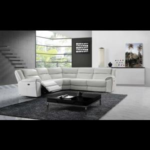 Dominic Premium Italian Leather Sectional