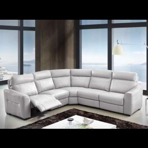 Trevor Premium Italian Leather Sectional