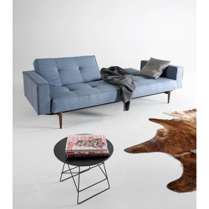 Splitback Modern Sofa Bed With Arms