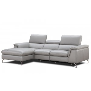 Serena Premium Leather Sectional By J&M