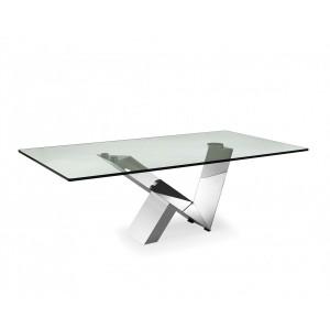 Sirius modern glass coffee table