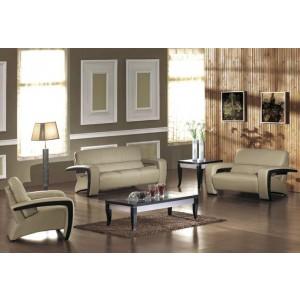 Sydney - Bonded Leather Sofa Set