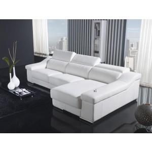 T136C White Sofa