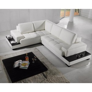 T71 Modern Leather Sectional